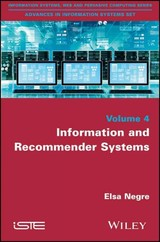 Information And Recommender Systems - Nègre, Elsa - ISBN: 9781848217546