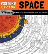 Posters To Color: Space - Running Press - ISBN: 9780762459971