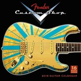 Fender Custom Shop Guitars 2016 Calendar - Sellers Publishing, Inc. (COR) - ISBN: 9781416297413