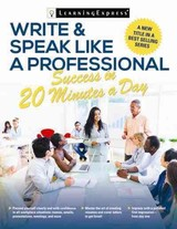 Write & Speak Like A Professional In 20 Minutes A Day - Salpeter, Miriam - ISBN: 9781611030556
