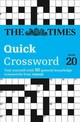 Times Quick Crossword Book 20 - The Times Mind Games; Grimshaw, John - ISBN: 9780008136468