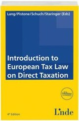 Introduction to European Tax Law on Direct Taxation - ISBN: 9783707330830