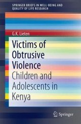 Victims Of Obtrusive Violence - Lieten, G. K. - ISBN: 9783319228068