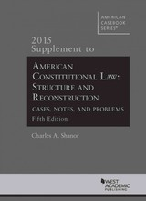 American Constitutional Law - Shanor, Charles A. - ISBN: 9781634597593