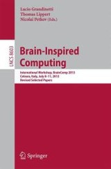 Brain-inspired Computing - Grandinetti, Lucio (EDT)/ Lippert, Thomas (EDT)/ Petkov, Nicolai (EDT) - ISBN: 9783319120836
