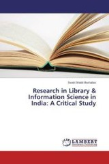 Research In Library & Information Science In India - Ghatol Barnabas Swati - ISBN: 9783659773112