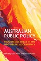 Australian Public Policy - Miller, Chris (EDT)/ Orchard, Lionel (EDT) - ISBN: 9781447312680