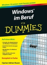 Windows 10 Im Beruf Fur Dummies - Rusen, Ciprian - ISBN: 9783527712557
