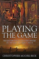Playing The Game - Moore-bick, Christopher - ISBN: 9781910294758