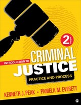 Introduction To Criminal Justice - Peak, Kenneth J./ Everett, Pamela M. - ISBN: 9781506305929