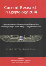 Current Research In Egyptology 15 (2014) - ISBN: 9781785700460