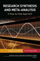 Research Synthesis And Meta-analysis - Cooper, Harris - ISBN: 9781483331157