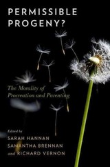 Permissible Progeny? - Hannan, Sarah (EDT)/ Brennan, Samantha (EDT)/ Vernon, Richard (EDT) - ISBN: 9780199378128