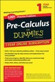 1001 Precalculus Practice Problems For D - Consumer Dummies - ISBN: 9781118853085