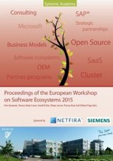 Proceedings Of The European Workshop On Software Ecosystems 2015 - ISBN: 9783739218328