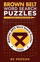 Brown Belt Word Search Puzzles - Donaldson, Samuel A - ISBN: 9781454912088