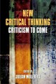 New Critical Thinking - Wolfreys, Julian (EDT) - ISBN: 9780748699643