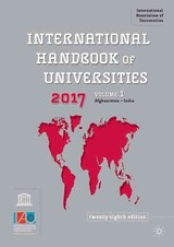 International Handbook Of Universities 2017 - International Association of Universitie - ISBN: 9781137508515
