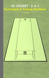 3d Cricket 2 In 1 Tacticboard And Training Book - Taane, Theo von - ISBN: 9783739233154