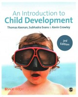 Introduction To Child Development - Crowley, Kevin; Evans, Subhadra; Keenan, Thomas - ISBN: 9781446274026