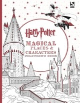 Harry Potter Magical Places And Characters Colouring Book - Rowling, Joanne K. - ISBN: 9781783706006
