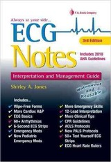 Ecg Notes Interpretation & Mgmt Guide 3e - Jones, Shirley A. - ISBN: 9780803639300