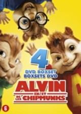 Alvin and the Chipmunks 1-4 - ISBN: 8712626094234