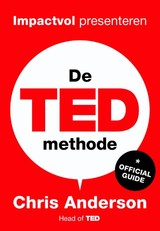 De TED-methode - Chris Anderson - ISBN: 9789491845802