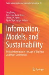 Information, Models, And Sustainability - Zhang, Jing (EDT)/ Luna-reyes, Luis Felipe (EDT)/ Pardo, Theresa A. (EDT)/ Sayogo, Djoko S. (EDT) - ISBN: 9783319254371
