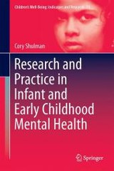Research And Practice In Infant And Early Childhood Mental Health - Shulman, Cory - ISBN: 9783319311791