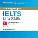 Ielts Life Skills Official Cambridge Test Practice  A1 Audio Cds (2) - ISBN: 9781316507117