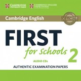 Cambridge English First For Schools 2 Audio Cds (2) - ISBN: 9781316503492