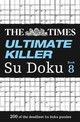 Times Ultimate Killer Su Doku Book 8 - The Times Mind Games - ISBN: 9780008173838