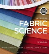 J.j. Pizzuto's Fabric Science - Sarkar, Dr. Ajoy K. (fashion Insititue Of Technology, Usa); Cohen, Allen C. (fashion Insititue Of Technology, Usa); Johnson, Professor Ingrid  (fashion Insititue Of Technology, Usa) - ISBN: 9781501395369