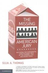 Missing American Jury - Thomas, Suja A. - ISBN: 9781316618035