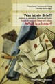 Was ist ein Brief? / What is a letter? - ISBN: 9783826059858