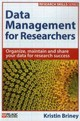 Data Management For Researchers - Briney, Kristin - ISBN: 9781784270117