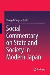 Social Commentary On State And Society In Modern Japan - Sugita, Yoneyuki (EDT) - ISBN: 9789811023941