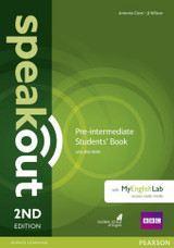 Speakout Pre-intermediate 2nd Edition Students' Book With Dvd-rom And Myenglishlab Access Code Pack - Wilson, J; Wilson, Jj; Clare, Antonia - ISBN: 9781292115962