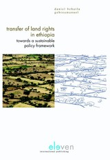 Transfer of land rights in Ethiopia - Daniel  Behailu Gebreamanuel - ISBN: 9789462742543
