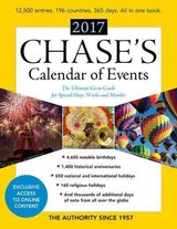 Chase's Calendar Of Events 2017 - Editors Of Chase's - ISBN: 9781598888584