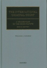 International Criminal Court - Schabas, William A. - ISBN: 9780198739777