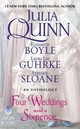 Four Weddings And A Sixpence: An Anthology - Quinn, Julia - ISBN: 9780062428424