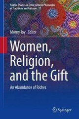Women, Religion, And The Gift - Joy, Morny (EDT) - ISBN: 9783319431888