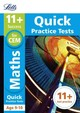 11+ Maths Quick Practice Tests Age 9-10 For The Cem Tests - Mcmahon, Philip; Letts 11+ - ISBN: 9781844198900