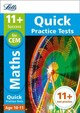 11+ Maths Quick Practice Tests Age 10-11 (year 6) - Letts 11+ - ISBN: 9781844198931