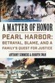 Matter Of Honor - Summers, Anthony; Swan, Robbyn - ISBN: 9780062405517