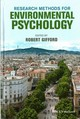 Research Methods For Environmental Psychology - Gifford, Robert - ISBN: 9781118795330