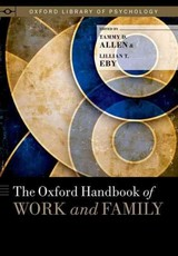 Oxford Handbook Of Work And Family - Allen, Tammy D. (EDT)/ Eby, Lillian T. (EDT) - ISBN: 9780199337538