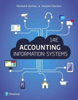Accounting Information Systems - Romney, Marshall B.; Steinbart, Paul John - ISBN: 9780134474021